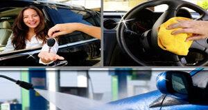 Produits de soin de voiture