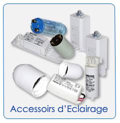 Accessoires d'éclairage
