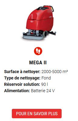 auto-laveuse mega II