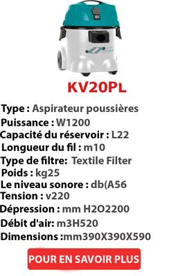 Aspirateur à poussière KV20PL