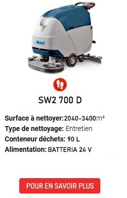 auto-laveuses SW2 700 D