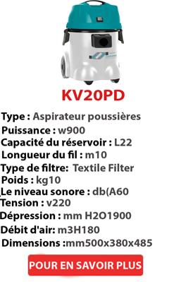 aspirateur POUSSIERE KV20PD