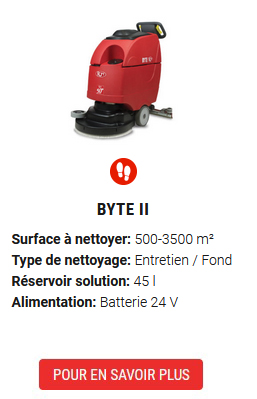 auto-laveuse Byte II