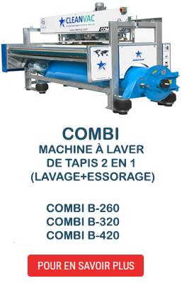 Combi Machine à laver de tapis 2 en 1 (lavage+essorage)