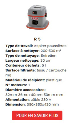 aspirateur R5