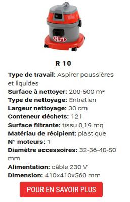 aspirateur r10