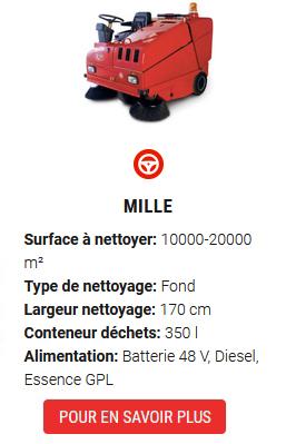 balayeuses MILLE