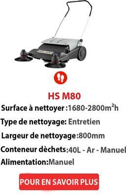 balayeuses HSM80